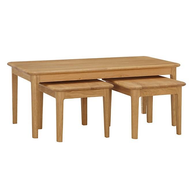 Hudson 3-jų staliukų komplektas