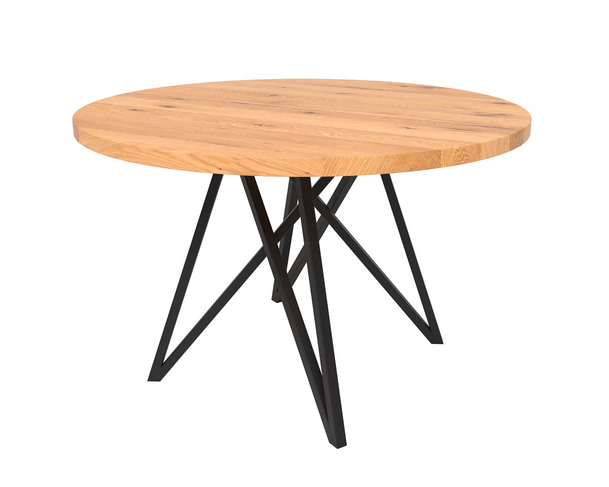 Korgen apvalus pietų stalas