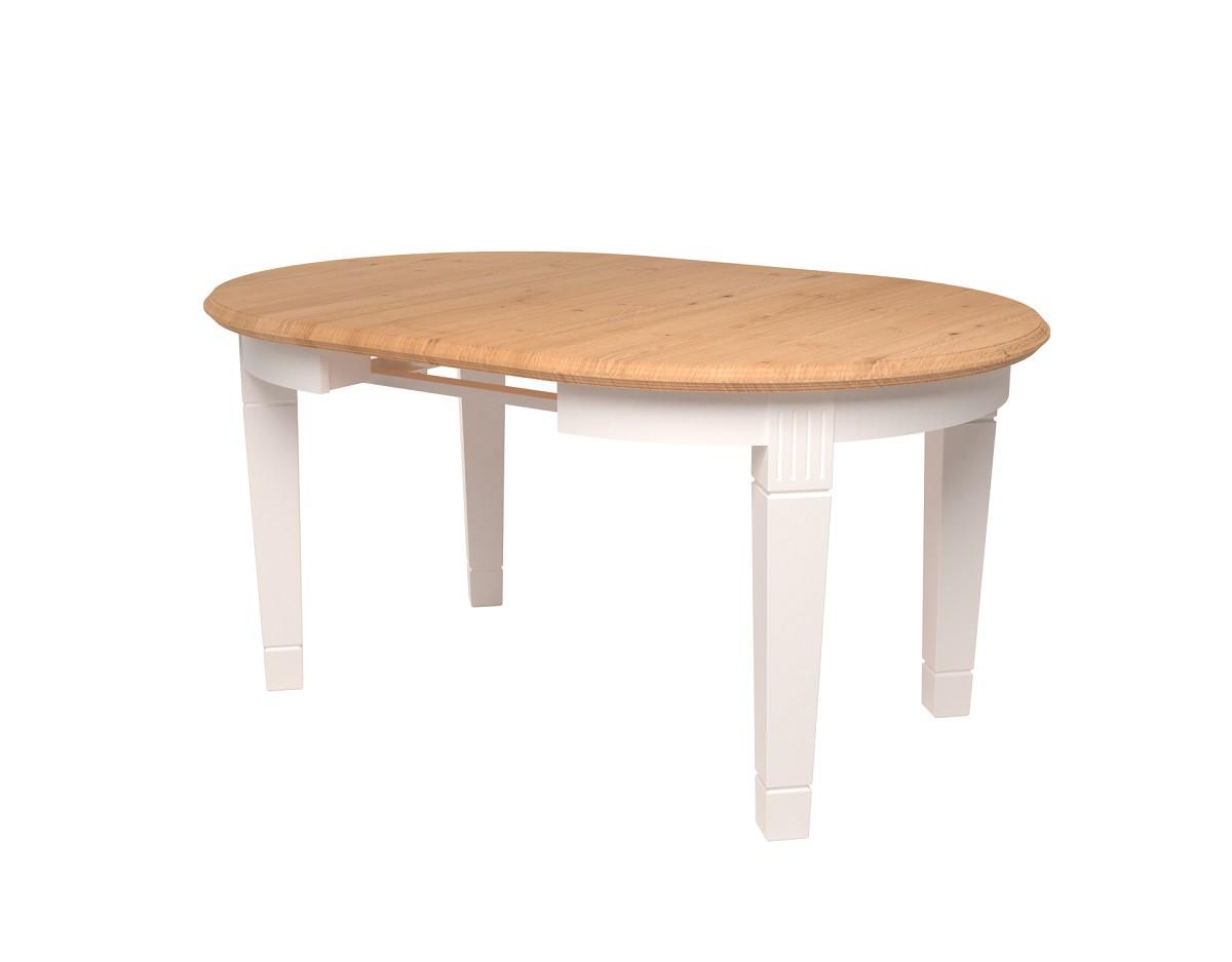 Oakdale apvalus pietų stalas su prailginimu (813-814)
