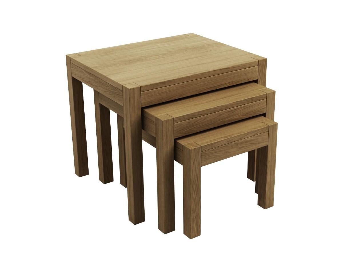 Sims 3-jų staliukų komplektas