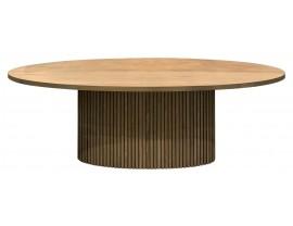 Timo ovalus pietų stalas