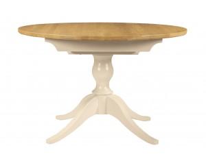 Akam apvalus pietų stalas