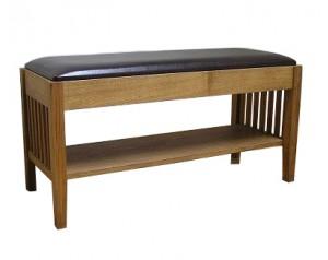 Arlanda suolas su odine sėdyne