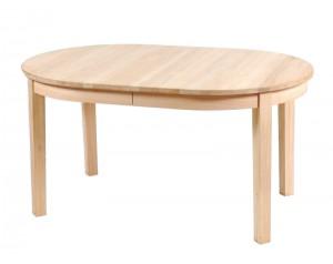Carol ovalus pietų stalas su 1-nu intarpu