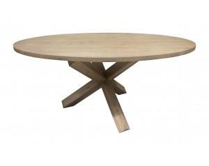 Coen apvalus pietų stalas