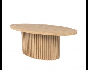 Timo ovalus kavos staliukas