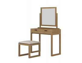 Sims kosmetinis staliukas su veidrodžiu ir kėde